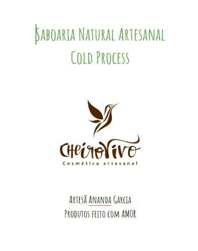 Apostila Saboaria Natural Cold Process