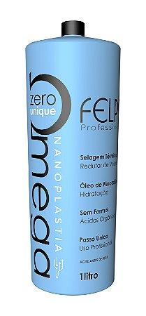 Escova Progressiva Omega Zero Unique Nanoplastia - 1000ml