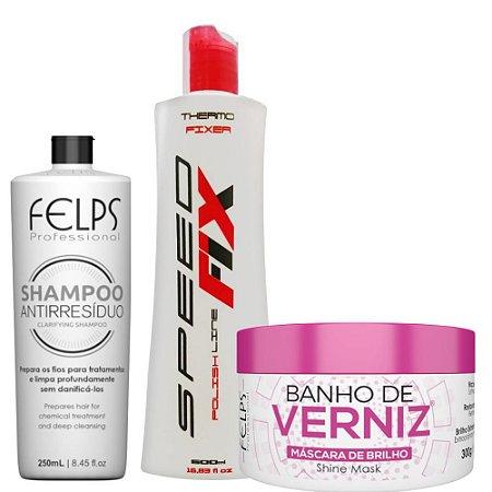 256d41c89 kit Escova Progressiva Speedfix Shampoo Ativo e Maski - StiloHair ...
