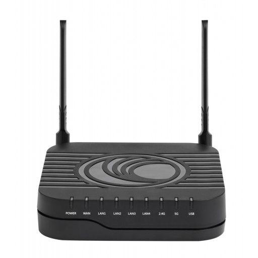 cnPilot - R201P 802.11AC dual band Gigabit WLAN Router with ATA (com PoE)