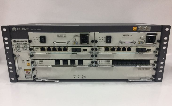 ROUTER HUAWEI NE20E-S4 (CHASSIS 2 MPUE1 2AC)