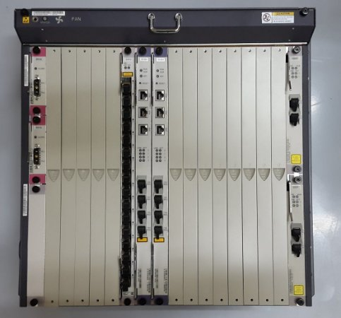 "OLT Huawei 19"" MA5680T 2X UPLINK GICF COM GPFD 16PORTS"