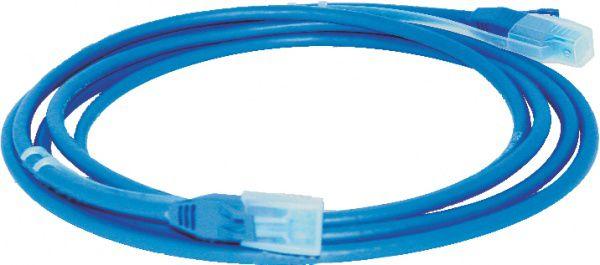 Patch Cord 1,5m cat5e c/ Capa Moldada e Protetora - Azul
