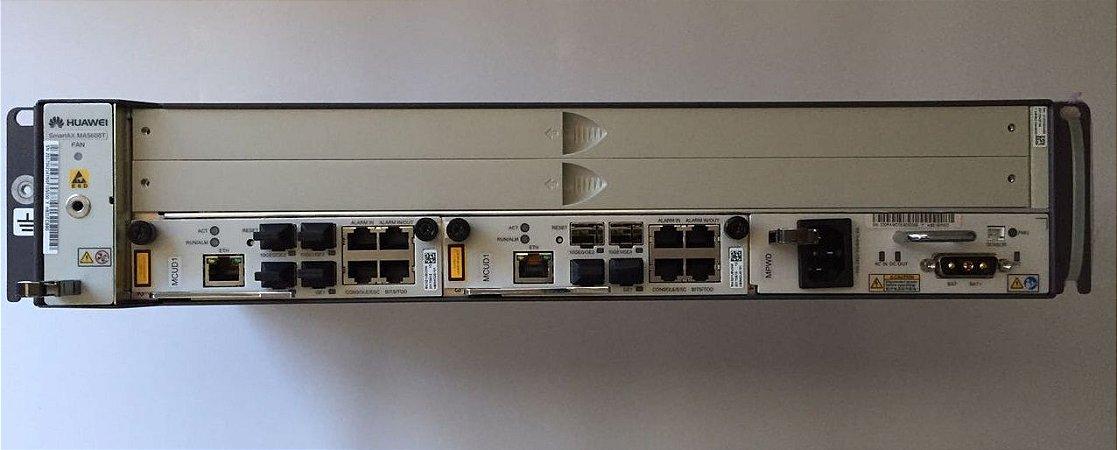 OLT HUAWEI 02U MINI MA5608T 02X UPLINK 1G (MCUD)+ PWRA (AC)