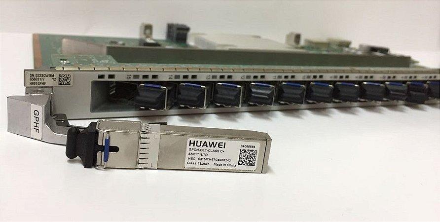 Placa OLT HUAWEI GPHF 16 GPON C+ (MA5800)