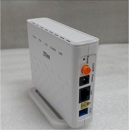 ONU GPON ZTE F601 1PORTA GE 10/100/1000