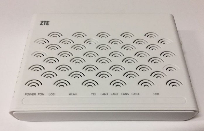 ONU GPON WIFI ZTE F660 1 POTS+ 1GIGA+3 FE 10/100+1USB V.6