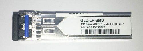 SFP 1.25G 20KM BIDI LC DDM TX1310NM GLC-LH-SMD DUPLEX