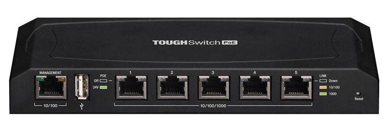 Ubiquiti ToughSwitch TS-5 portas POE
