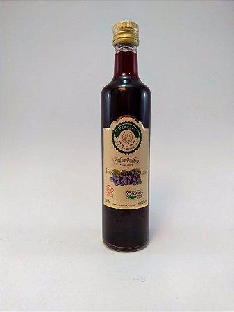 Vinagre orgânico de vinho tinto - 500ml