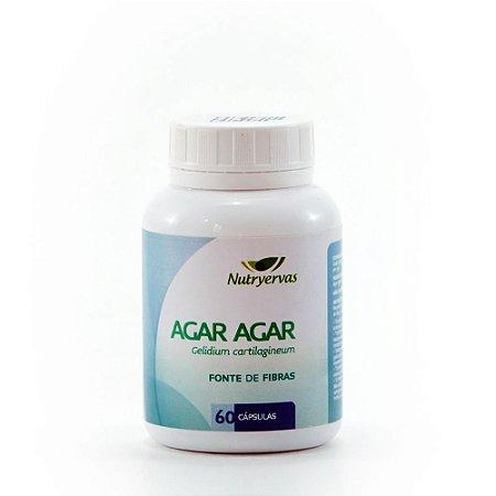 AGAR-AGAR 410 mg 60 cápsulas - Nutryervas