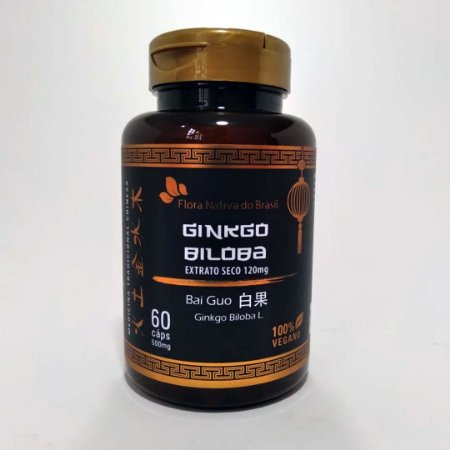 GINKGO BILOBA - 60 CAPS
