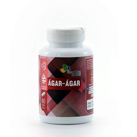 Ágar - Ágar - 500mg - 60 cápsulas