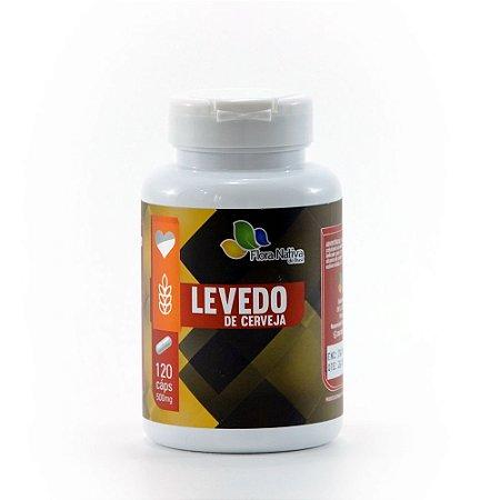 LEVEDO DE CERVEJA 500MG 120 CÁPSULAS