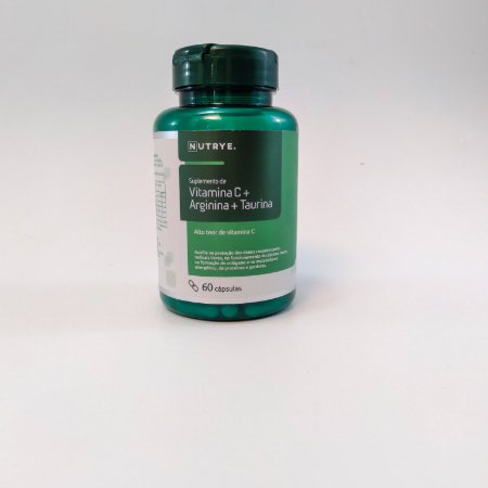 Vitamina C + Arginina + Taurina - 60 cápsulas - 450mg