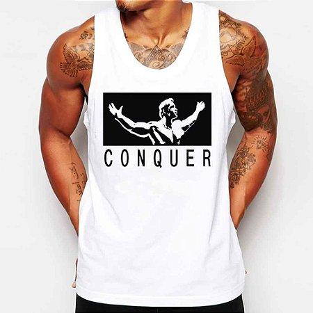 Camiseta Masculina Regata Arnold Schwarzenegger Academia Malhação - Personalizadas/ Customizadas/ Estampadas/ Camiseteria/ Estamparia/ Estampar/ Personalizar/ Customizar/ Criar/ Camisa Blusas Baratas Modelos Legais Loja Online