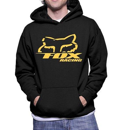 Moletom Masculino Fox Racing - Moletons Personalizados Blusa / Casacos Baratos / Blusão / Jaqueta Canguru