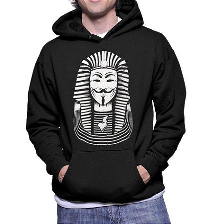 Moletom Masculino Anonymus Faraó Nerd Geek Filmes V De Vingança -  Moletons Personalizados Blusa/ Casacos Baratos/ Blusão/ Jaqueta Canguru