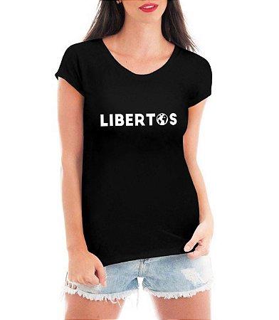 Blusa Feminina Libertos Negócio de 4 Rendas