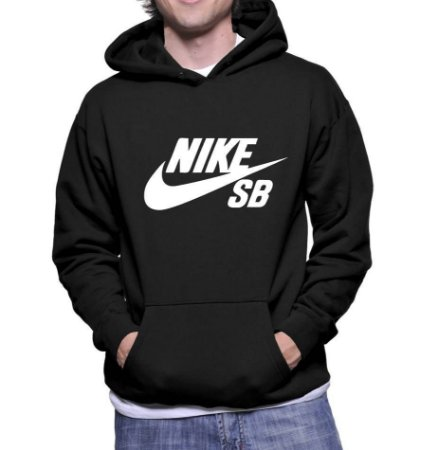Moletom Masculino Nike Sb Skateboard de Marca - Moletons Personalizados Blusa/ Casacos Baratos/ Blusão/ Jaqueta Canguru