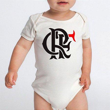 Body Bebê Flamengo Times de Futebol - Roupinhas Macacão Infantil Bodies Roupa Manga Curta Menino Menina Personalizados
