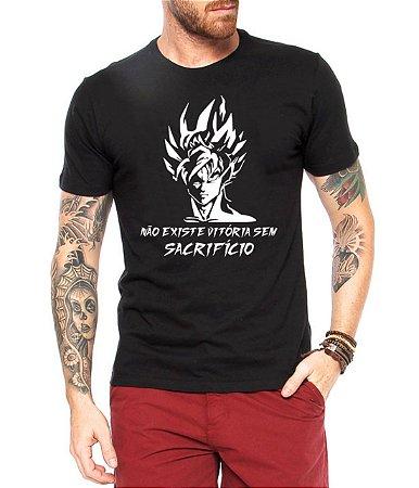 Camiseta Masculina Desenho Dragonball  - Personalizadas/ Customizadas/ Estampadas/ Camiseteria/ Estamparia/ Estampar/ Personalizar/ Customizar/ Criar/ Camisa Blusas Baratas Modelos Legais Loja Online