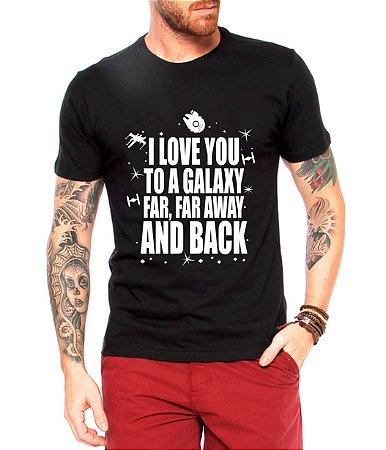 Camiseta Masculina Star Wars Filme Galaxy - Personalizadas/ Customizadas/ Estampadas/ Camiseteria/ Estamparia/ Estampar/ Personalizar/ Customizar/ Criar/ Camisa Blusas Baratas Modelos Legais Loja Online