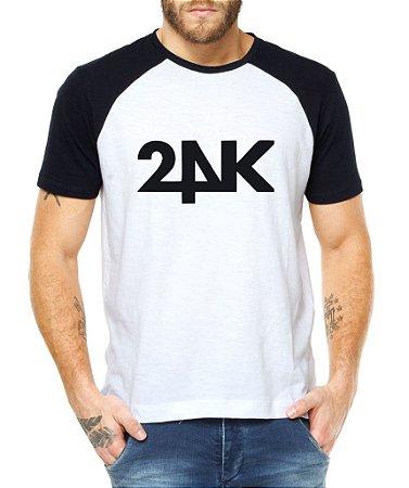 204c7c99a Camiseta Masculina Kpop Banda 24K Blusa Raglan - Estampadas Camisa Blusas  Baratas Modelos Legais Loja Online