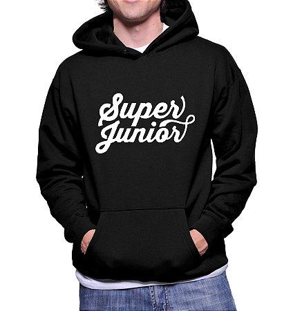 Moletom Masculino Kpop Banda Super Junior K-pop - Moletons Blusa de Frio Casacos Baratos Blusão Canguru Loja Online