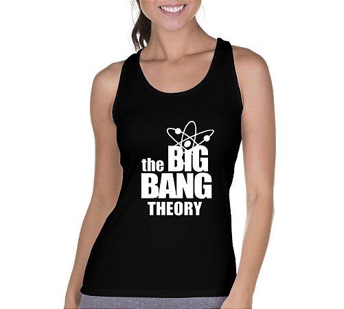 Camiseta Regata Feminina The Big Bang Theory Séries Seriado Bazinga - Personalizadas/ Customizadas/ Camiseteria/ Camisa T-shirts Baratas Modelos Legais Loja Online