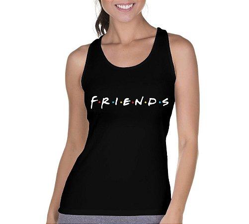 Camiseta Regata Feminina Friends Série Seriado - Personalizadas/ Customizadas/ Camiseteria/ Camisa T-shirts Baratas Modelos Legais Loja Online