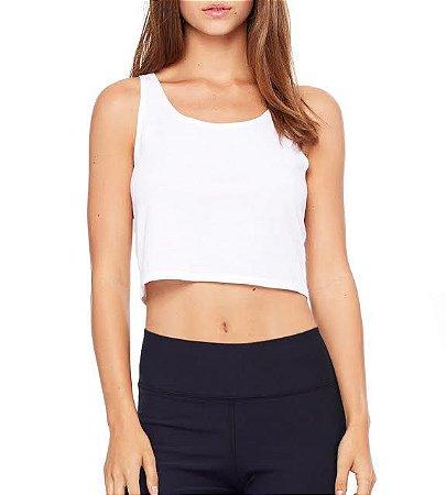 Top Cropped Blusa Branco Preto - Modelos Femininos Comprar Online Camiseta Regata Roupa da Moda