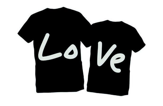 Camiseta Namorados Amor Love Casal - Personalizadas  Customizadas   Estampadas  Camiseteria  Estamparia  3f91fa3854000