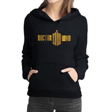 Moletom Feminino Doctor Who Série Seriado - Moletons Personalizados Blusa/ Casacos Baratos/ Blusão/ Jaqueta Canguru