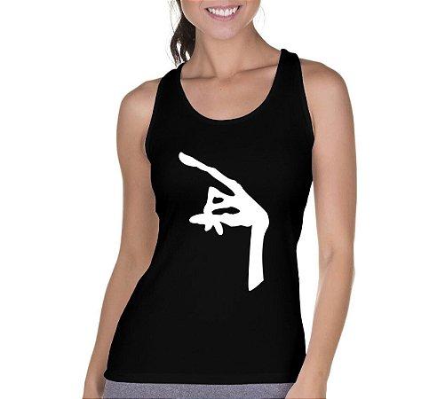 Regata Feminina Preta ET Mão - Personalizadas/ Customizadas/ Camiseteria/ Camisa T-shirts Baratas Modelos Legais Loja Online
