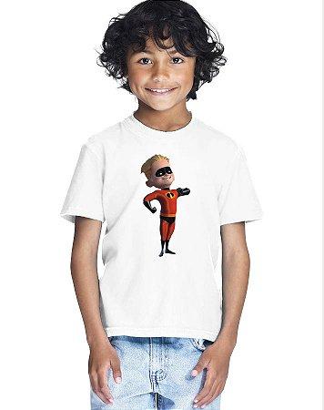Camiseta Infantil Menino Flecha Os Incríveis Desenho - Personalizadas/ Customizadas/ Estampadas/ Camiseteria/ Estamparia/ Estampar/ Personalizar/ Customizar/ Criar/ Camisa Blusas Baratas Modelos Legais Loja Online