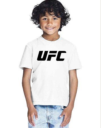 Camiseta Infantil Menino UFC - Personalizadas/ Customizadas/ Estampadas/ Camiseteria/ Estamparia/ Estampar/ Personalizar/ Customizar/ Criar/ Camisa Blusas Baratas Modelos Legais Loja Online