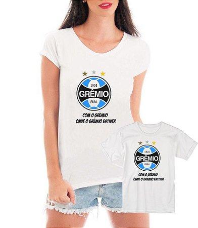 8ae88f7934aa25 Camisetas Tal Mãe Tal Filha ou Filho Grêmio Time Futebol - Personalizadas/  Customizadas/ Estampadas/ Camiseteria/ Estamparia/ Estampar/ ...