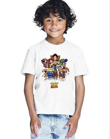 Camiseta Infantil Menino Toy Story Filme Desenho - Personalizadas/ Customizadas/ Estampadas/ Camiseteria/ Estamparia/ Estampar/ Personalizar/ Customizar/ Criar/ Camisa Blusas Baratas Modelos Legais Loja Online