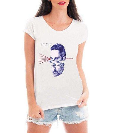 Blusa TShirt  Feminina  Jorge Drexler Show- Personalizadas/ Customizadas/ Estampadas/ Camiseteria/ Estamparia/ Estampar/ Personalizar/ Customizar/ Criar/ Camisa Blusas Baratas Modelos Legais Loja Online