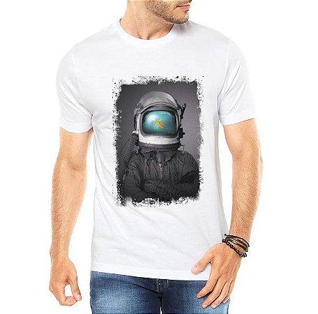 Camiseta Masculina Mergulhador Aquário Peixe Mar - Personalizadas/ Customizadas/ Estampadas/ Camiseteria/ Estamparia/ Estampar/ Personalizar/ Customizar/ Criar/ Camisa Blusas Baratas Modelos Legais Loja Online