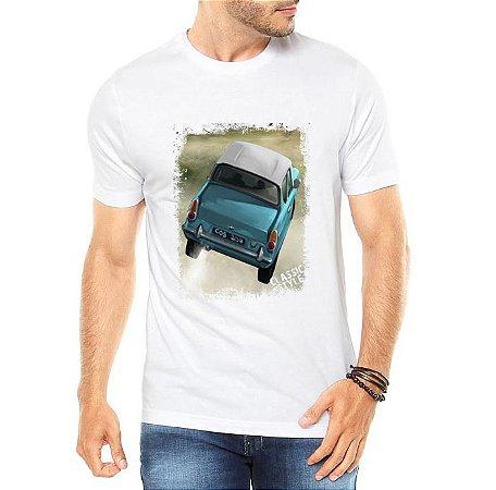 Camiseta Masculina Ford Anglia Voador Harry Potter - Personalizadas/ Customizadas/ Estampadas/ Camiseteria/ Estamparia/ Estampar/ Personalizar/ Customizar/ Criar/ Camisa Blusas Baratas Modelos Legais Loja Online