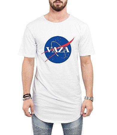 Camiseta Long Line Oversized Masculina Vaza Nasa Camisetas Barra Curvada - Camisetas Personalizadas/ Customizadas/ Estampadas/ Camiseteria/ Estamparia/ Estampar/ Personalizar/ Customizar/ Criar/ Camisa Barata  Loja Online