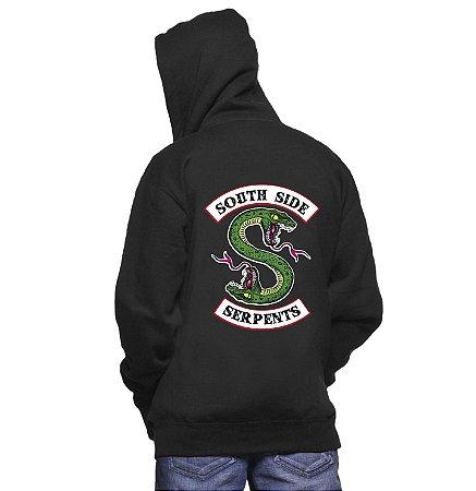 Blusa Moletom Masculino Riverdale South Side Serpents Séries Seriados -  Moletons Personalizados Blusa  Casacos Baratos 95945bc6f3f