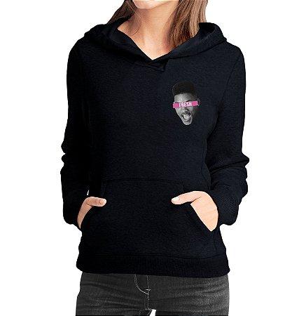 Moletom Feminino Casaco Will Smith Fresh Mini Serie Um Maluco No Pedaço - Moletons Personalizados Blusa/ Casacos Baratos/ Blusão/ Jaqueta Canguru