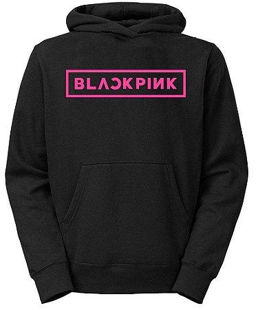 Moletom Black Pink Kpop Grupo Coreano Feminino - Moletons Personalizados Blusa/ Casacos Baratos/ Blusão/ Jaqueta Canguru/ Blusa de Frio