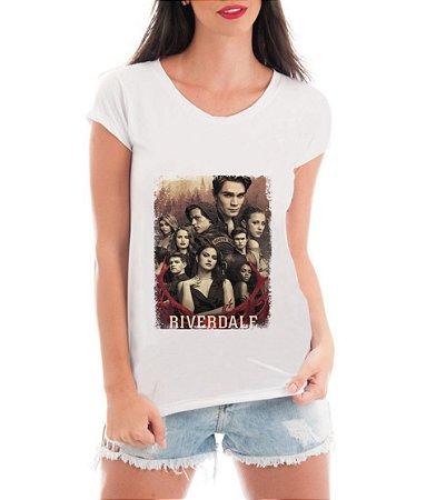 Camiseta Feminina Riverdale Blusa Integrantes Tumblr Serie