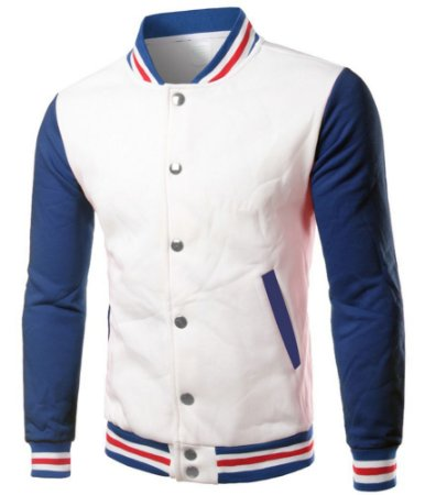Jaqueta Masculina College Casaco Moletom - Roupa Colegial Americana Blusa de Frio