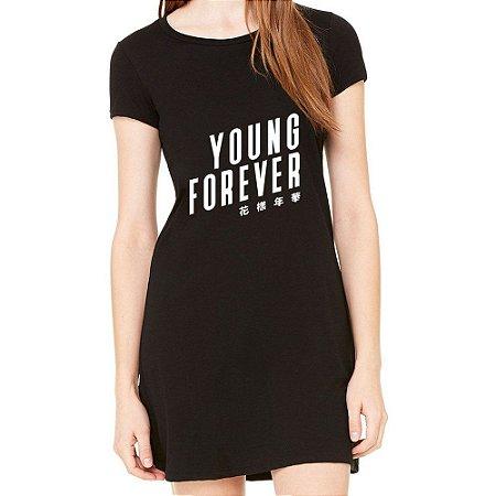 Vestido Young Forever Bts Bangtan Boys K-pop Moda Feminino