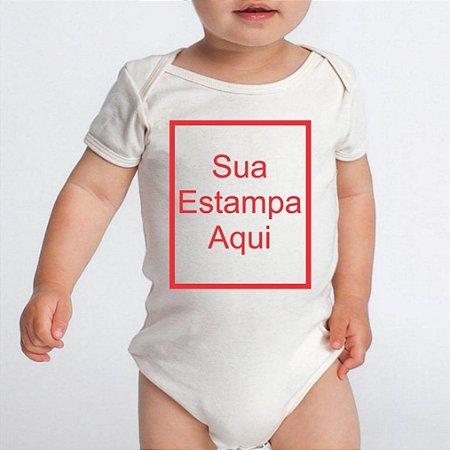 Body Bebê Personalizado Escolha sua Estampa Macacão Bebê Roupinha Infantil